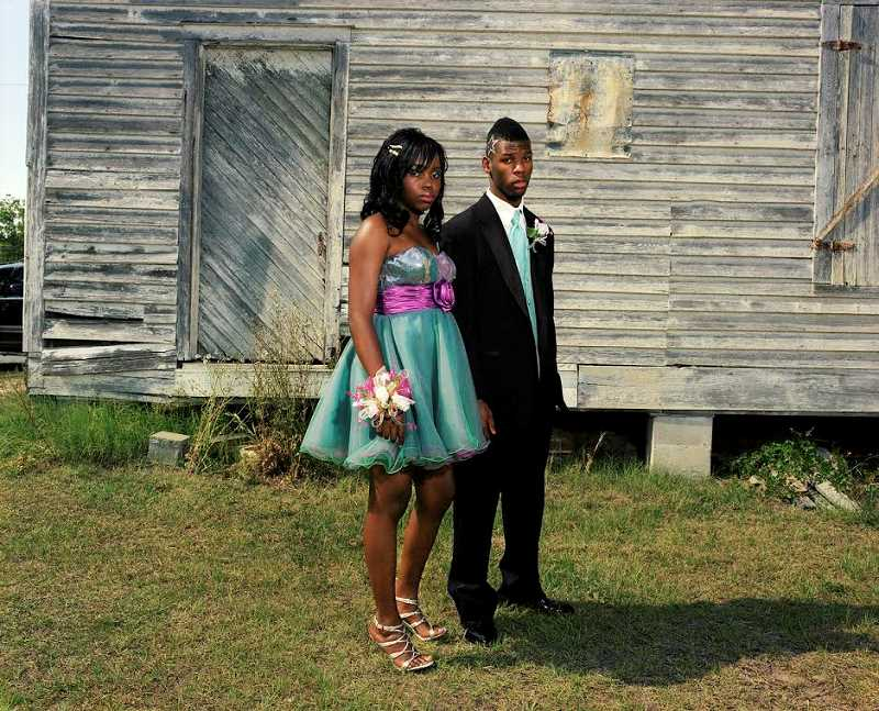COURTESY PHOTOS  - This is one of the photographs included in Southern Rites on  exhibt at the Oregon Jewish Museum and Center for Holocauast Education. This photograph is titled Amber and  Reggie, Mount Vernon, Georgia, 2011 by Gillian Laub.