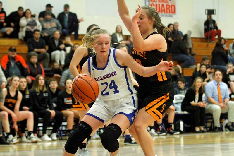 Hillsboro girls open league with 57-34 win over Scappoose
