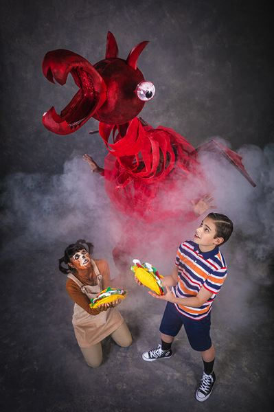 COURTESY PHOTO: OWEN CAREY PHOTOGRAPHY - Oregon Children's Theatre puts on 'Dragons Love Tacos,' Jan. 18-Feb. 16 at Newmark Theatre.