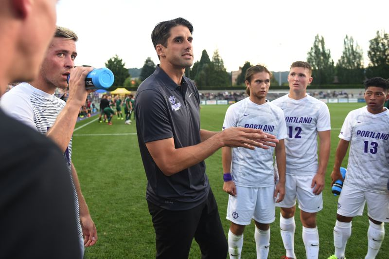 COURTESY: UNIVERSITY OF PORTLAND - Nick Carlin-Voigt hopes his fifth year as coach at the University of Portland will include contributions from transfers and freshmen.