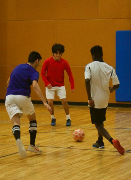 PMG PHOTO: CHRISTOPHER KEIZUR - To participate in Sunday Futsal, visit https://greshamoregon.gov/Futsal/ to register and sign a waiver.