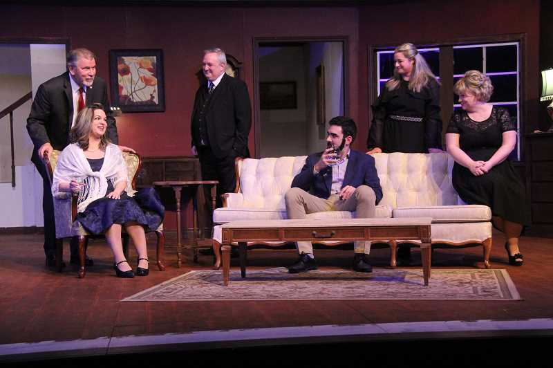 COURTESY PHOTO: JENN MCFARLING - People can see 'The City of Conversation' at Theatre in the Grove through Sunday, Feb. 2.
