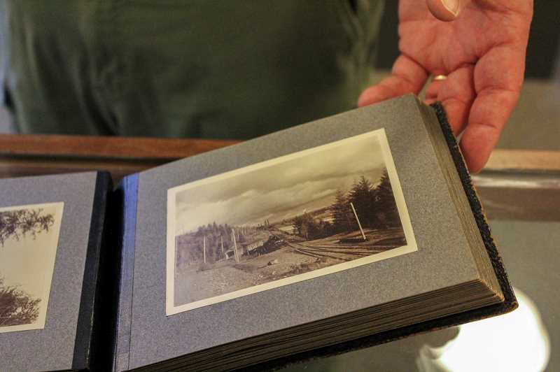 PMG PHOTO: CLARA HOWELL  - Oswego Heritage House archives contain several photographs from the photographers whose work is on display.