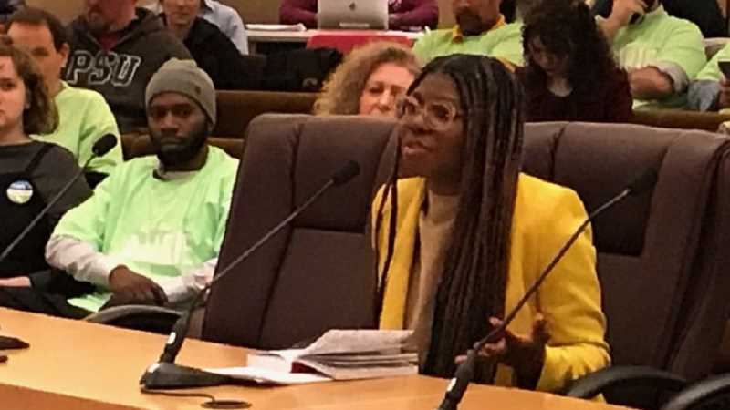 COURTESY PHOTO: MULTNOMAH COUNTY - Akasha Lawrence-Spence has been chosen from five candidates by the Multnomah County Board of Commissioners to fill the House Districgt 36 seat in the Legislature vacated by Jennifer Williamson who is running for the Democratic nomimation for Secretary of State.