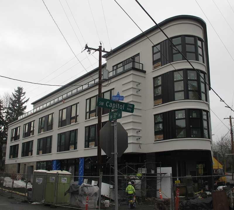 Spring opening slated for Multnomah Station Apartments with units for lease possibly in late February