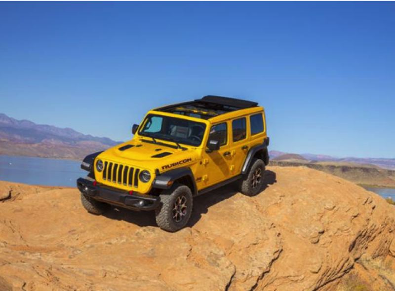 FCA US LLC - The 2020 Wrangler Unlimited Rubicon 4X4 with the optional EcoDiesel engine sets a new standard for Jeep's most off-road capable vehicle.