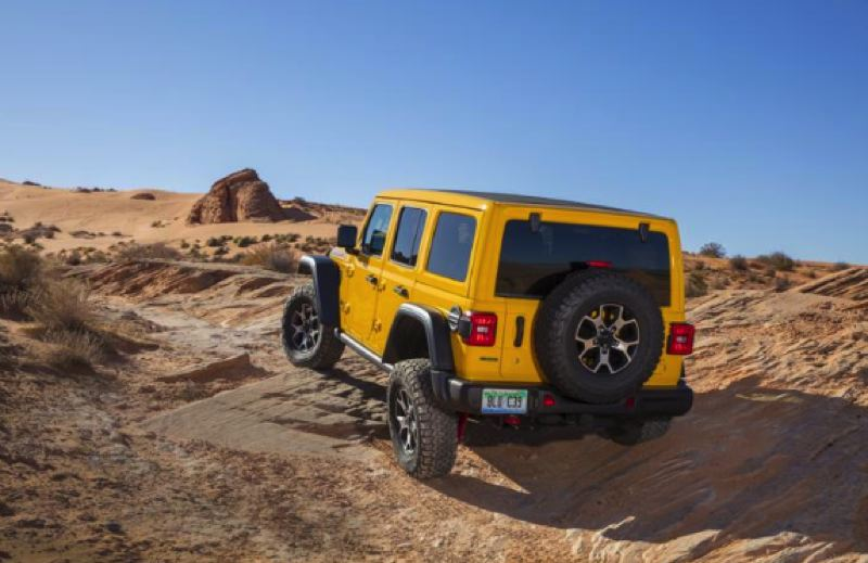 FCA US LLC - It takes work to find somewhere the 2020 Jeep Wrangler Limited Rubicon EcoDiesel 4X4 can't go.