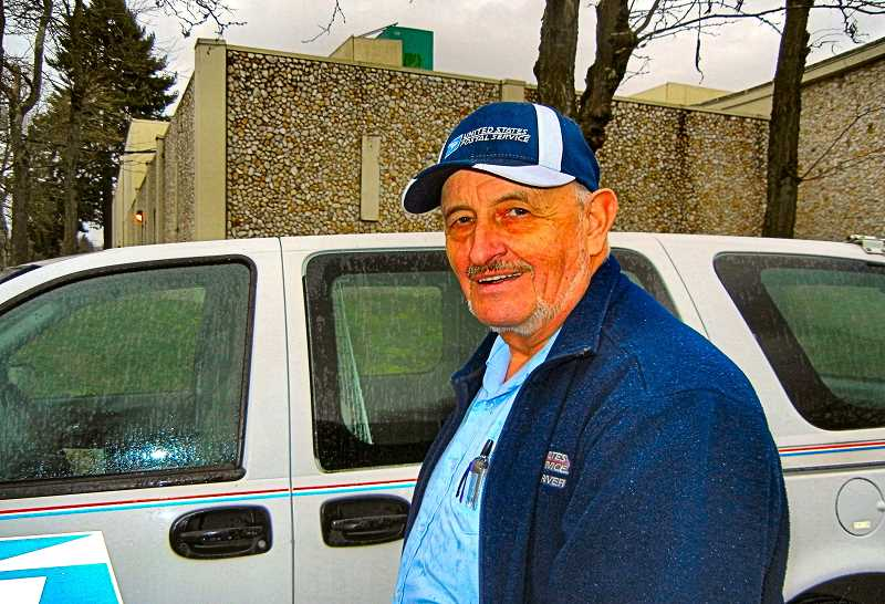 ELIZABETH USSHER GROFF - Woodstock letter carrier Glenn Forayter has worked for the U.S. Postal Service for fifty years. Carrying treats for dogs, and keeping an eye out for neighbors welfare, he and his service are being publicly celebrated on Sunday, February 9th.