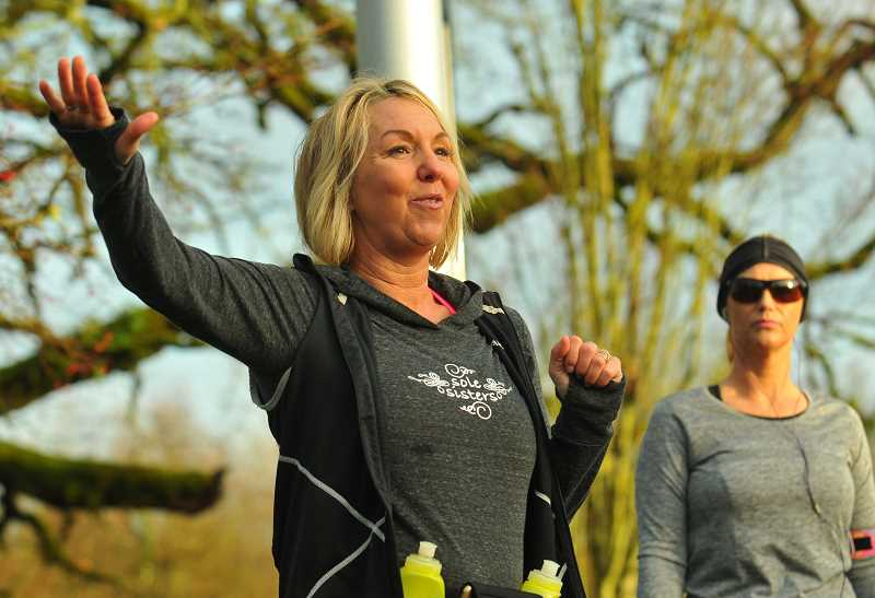 PMG FILE PHOTO - Wilsonville resident Jules Moody helped start the Sole Sisters women's running and walking group.