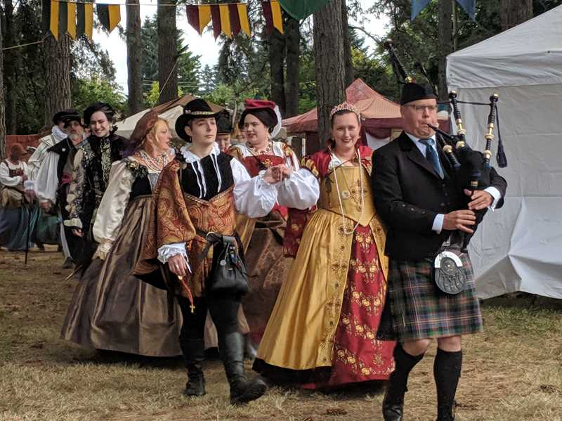 JOHN BAKER - This year's Oregon Renaissance Faire returns to Canby's fairgrounds wiht some fun addition, as the announcement that a Celtic music festival is coming in September.