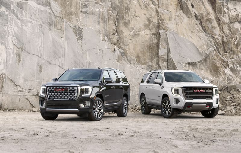 COURTESY GMC - For the 2021 model year, GMC redesigned the Yukon from the ground up, with several major changes that will make the new SUV better than ever. Most importantly, the new Yukon will feature independent rear suspension.