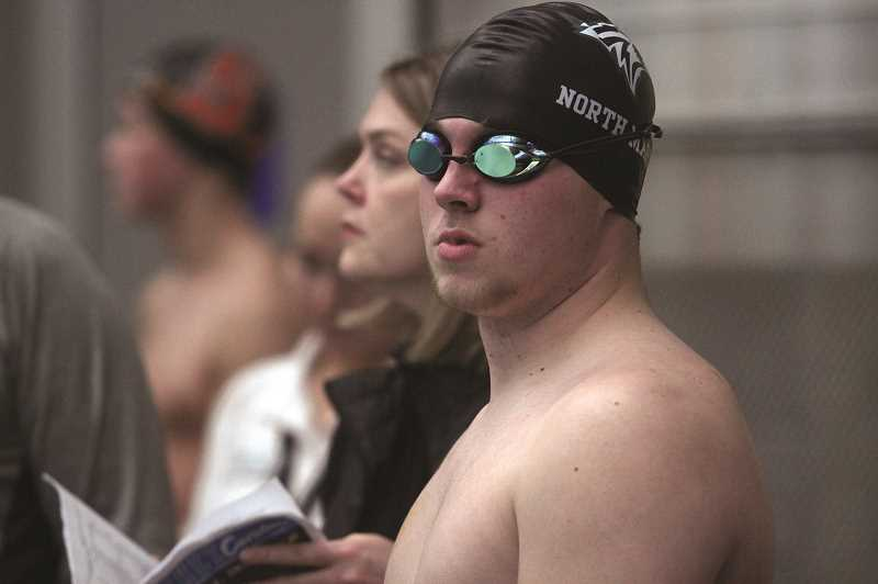 PMG FILE PHOTO: PHIL HAWKINS - North Marion senior Ben Netter qualified for the state meet in three events last year — the 100-yard butterfly, and as part of the teams 200- and 400-yard freestyle relay teams.