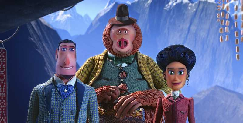 PHOTO CREDIT: LAIKA STUDIOS/ANNAPURNA PICTURES - Laika studios in Hillsboro won a Golden Globe Award earlier this year and has a recent Oscar nomination for the same film, Missing Link.