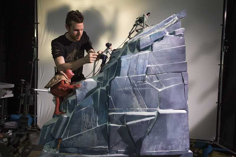 PHOTO CREDIT: LAIKA STUDIOS/ANNAPURNA PICTURES - It takes years for animators at Laika Studios in Hillsboro to make a film. Stop motion requires each animator to move the puppets a fraction of an inch at a time.