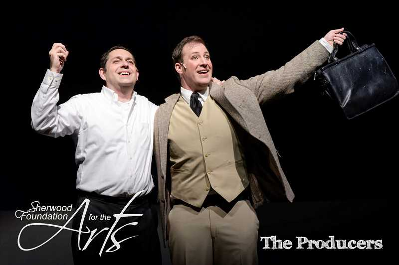 COURTESY PHOTO - The Sherwood Foundation for the Arts winter musical, The Producers, tells the story of a down-on-his-luck Broadway producer and his mild-mannered accountant.