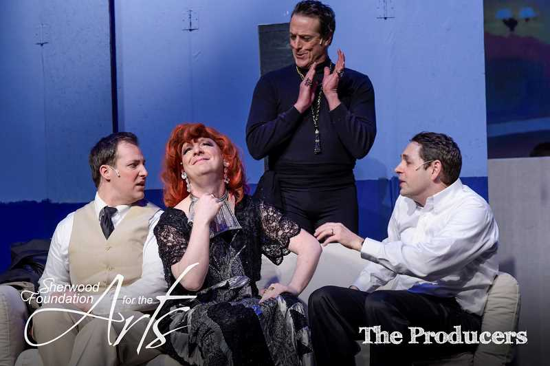 COURTESY PHOTO - The Producers runs through Sunday, Jan. 26, at the Sherwood Foundation for the Arts.