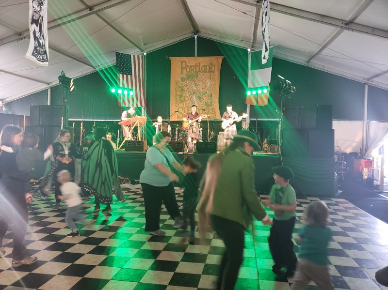 COURTESY PHOTO: BELTAINE - When Beltaine plays their Irish-influenced reels and jigs, audiences — and their feet — tend to respond in kind.