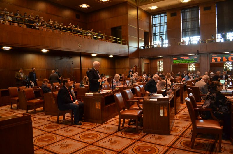 PMG FILE PHOTO - Oregon lawmakers plan to hit the ground running on a handful of big issues when the short, 35-day session begins in Februrary.