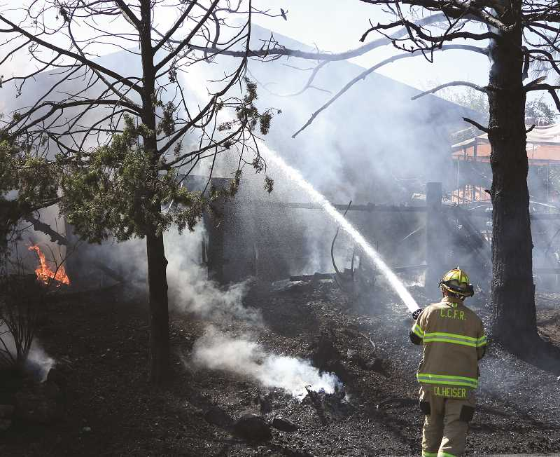 CENTRAL OREGONIAN - Crook County Fire and Rescue personnel want to help people and respond to fires as quickly as possible.