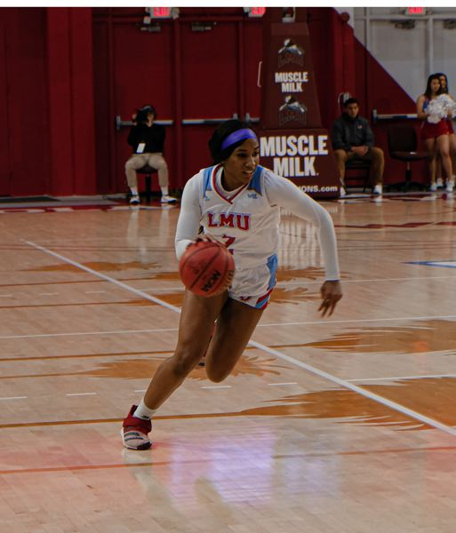 COURTESY: LOYOLA MARYMOUNT UNIVERSITY - Freshman Ciera Ellington, who helped lead Benson High to a state championship last season, has been a regular starter and contributor at both ends of the floor for the Loyola Marymount Lions.