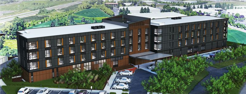 COURTESY: CEDARTREE HOTELS - Cedartree Hotels, an American subsidiary of Kyoto-based Urban Hotel Systems, is building a 120-room hotel in Hillsboro. Designed with features that honor Japanes culture and design, the project is the company's first U.S. venture.