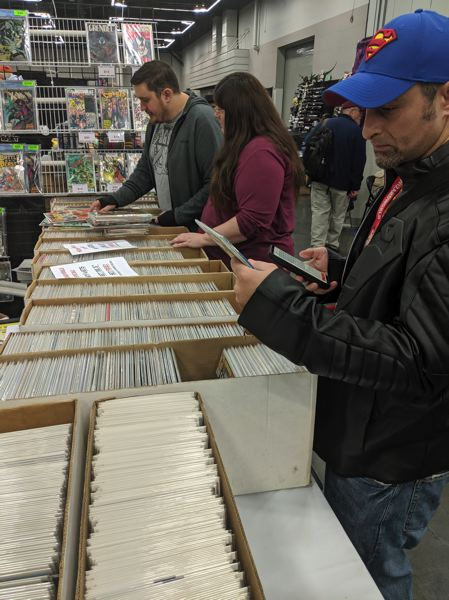 The never-ending hunt for that one pristine issue to fill out the Silver Age run of your favorite comic book.