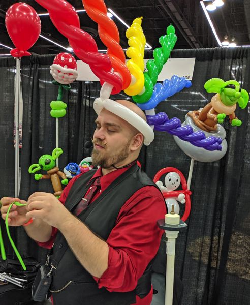 PMG PHOTOS: JOHN BAKER AND HIS HOWLING COMMANDOS - To almost everyone's surprise, Balloon Master never hit it big with the Justice League.