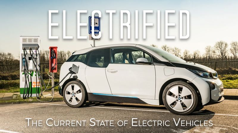 CONTRIBUTED - The BMW i3 pictured above is just one of many EVs featured in the locally-produced documentary.