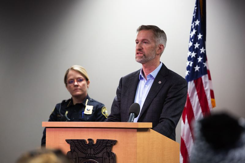 PMG FILE PHOTO - Portland Mayor Ted Wheeler will discuss homelessness with the community on Feb. 1.