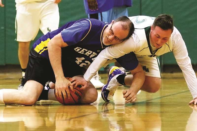 COURTESY PHOTO: JO WHEAT - The North Marion and Gervais staff basketball game will be held at Gervais High School on Thursday, Jan. 30 at 7 p.m. Proceeds from the event will go toward ASB activities for both schools.