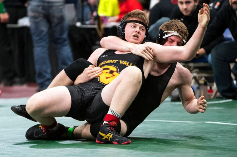 PMG FILE PHOTO - St. Helens junior star Mavrick Rask has started this season on a roll for the Lion wrestling team.