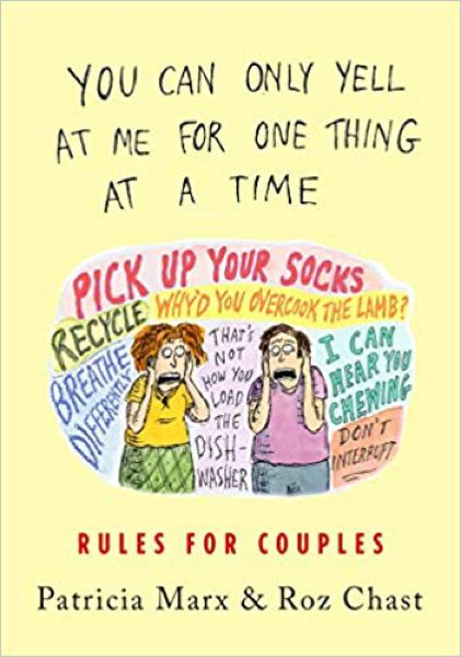COURTESY PHOTO - Cartoonist Roz Chast's most recent book, along with a New Yorker writer, tackles rules for couples.