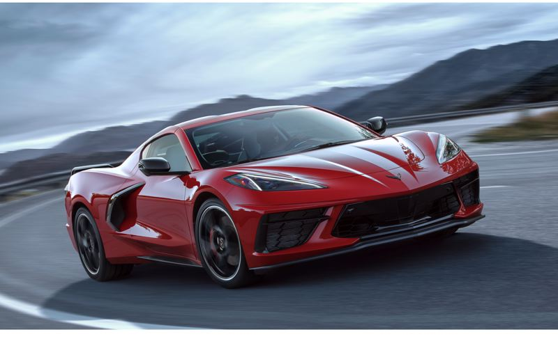 COURTESY CHEVY - The 2020 Corvette is the quickest ever offered for public sale. The base model Stingray will accelerate from 0 to 60 mph in exactly three seconds flat. When the optional Z51 package is added, the Corvette shaves an additional tenth of a second off that time.
