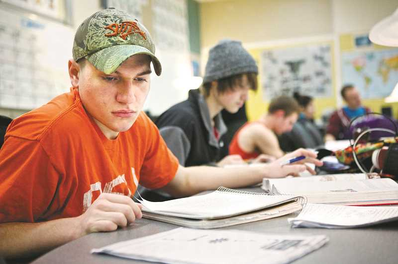 PMG FILE PHOTO - In recent decades, civics has fallen to the wayside in classrooms in Oregon and across the country. There is no requirement for students to study civics in Oregon schools.