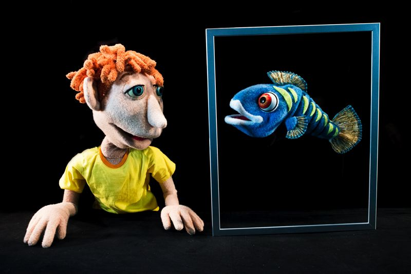 COURTESY PHOTO: ANTHONY ARNISTA - 'Terran's Aquarium' is by Whorls of Wonder Puppet Theater.