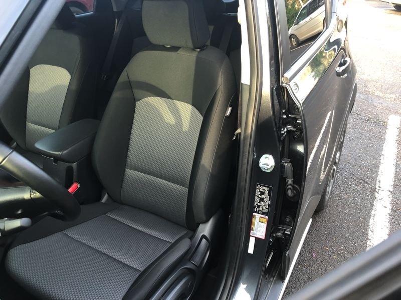 PMG PHOTO: JEFF ZURSCHMEIDE - The front seats in the 2020 Kia Soul are supportive and comfortable enough for long trips.