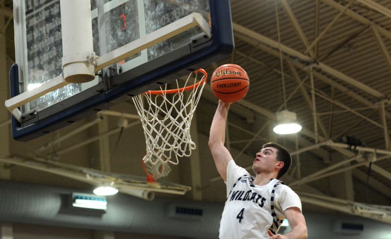 PMG PHOTO: DEREK WILEY - Wilsonville's Dakota Reber and the Wildcats are back in action tonight when they host Rex Putnam at 5:30 p.m. at Wilsonville High School.