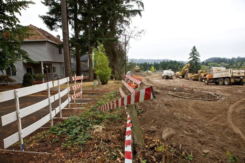 PMG FILE PHOTO - New forestland property rules going into effect in November 2021 could limit housing development for contiguous parcels.