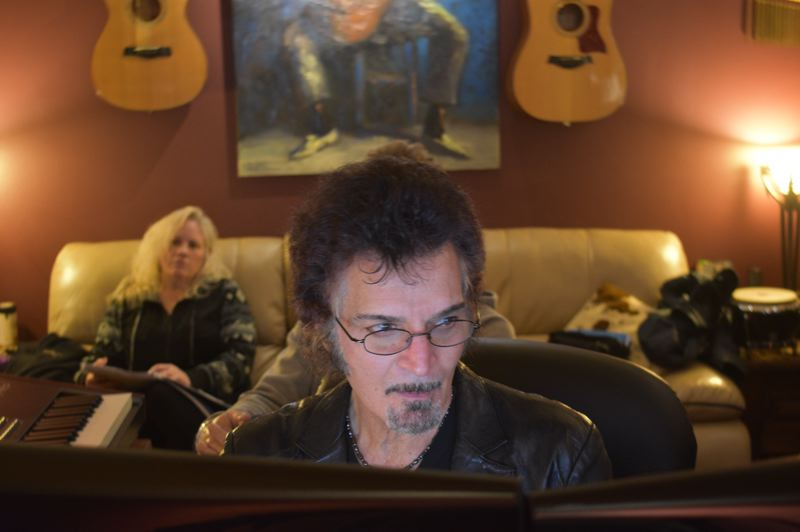 PMG PHOTO: SHANNON O. WELLS - Gino Vannelli published his first book, 'Stardust in the Sand' (left), about his life and career, in 2010, and released his most recent CD, 'Wilderness Road' in spring 2019.