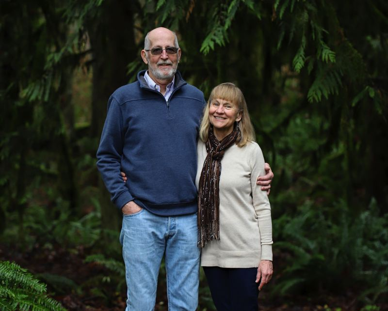 COURTESY PHOTO: CATHY FANTZ - Cathy Fantz and her husband, Roger, are promiting passage of meaningful climate action by Oregon lawmakers.