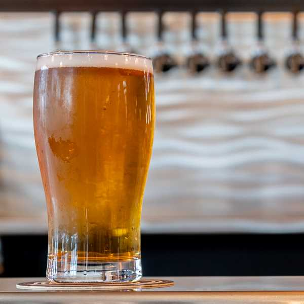 PMG PHOTO: CHRISTOPHER OERTELL - Nobel House has 22 taps pouring at all times to serve customers in downtown Hillsboro. Unlike most taprooms, customers are welcome to bring outside food.