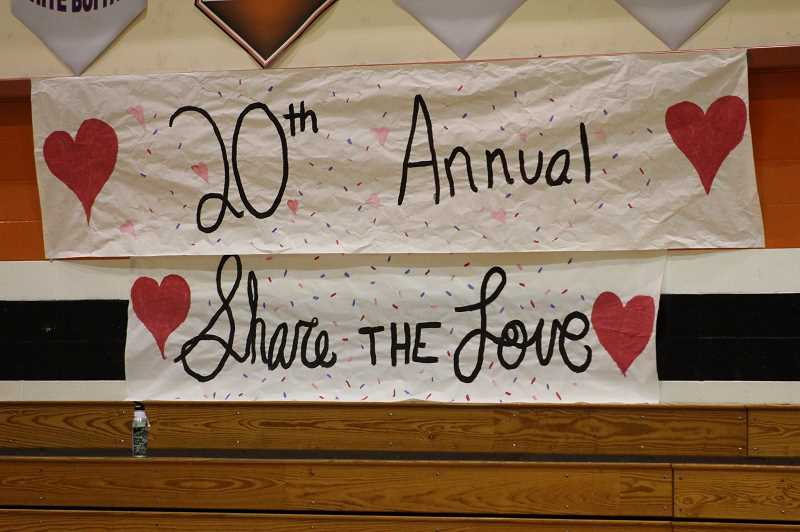 PMG PHOTO: KRISTEN WOHLERS - The Molalla community this year celebrates 20 years of Share the Love.