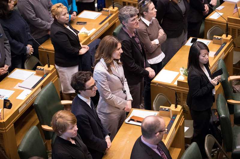PMG FILE PHOTO - Courtney Neron began her second legislative session on Monday.