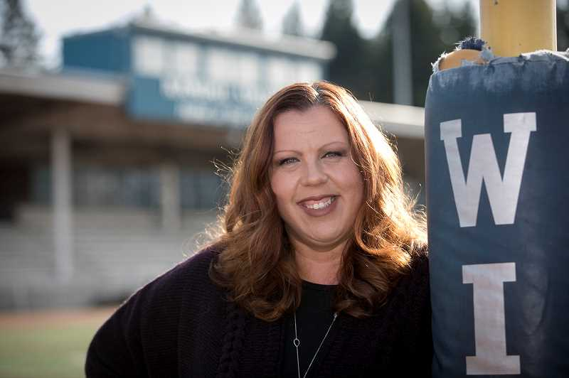 PMG PHOTO: JAIME VALDEZ - Ericka Katz Consilio is a finalist for the Rotary Club of Wilsonville's First Citizen award.