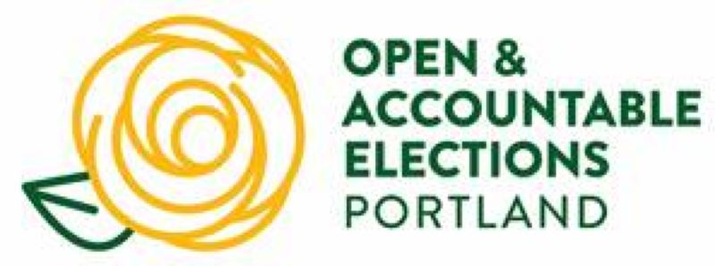 COTY OF PORTLAND - The logo of the Portland public campaign finance program