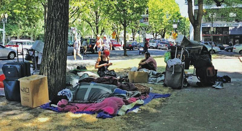 PMG FILE PHOTO - Wrap-around services, called Intensive Case Management, for homeless people have proven to help end their situation and get them into a home.
