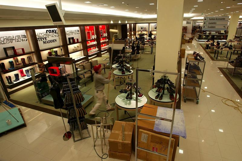 PMG FILE PHOTO - Macy's Inc. announced Feb. 4 that the company plans to close about 125 'underperforming' stores in the next three years. The move is expected to save the retail giant about $1 billion and help it focus on smaller, Market by Macy's stores.KEYWORDS: Oregon, Portland, city, retail, sales, remodel