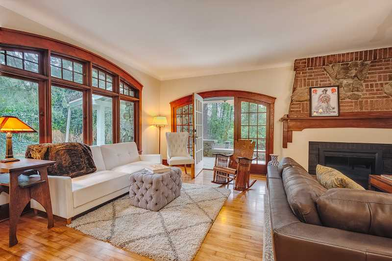 COURTESY PHOTO: LARA JANZEN PHOTOGRAPHY - The McCulloch Foundation saved a historic Lake Oswego home from being demolished — with help from the Lake Oswego Preservation Society — and remodeled it for market.