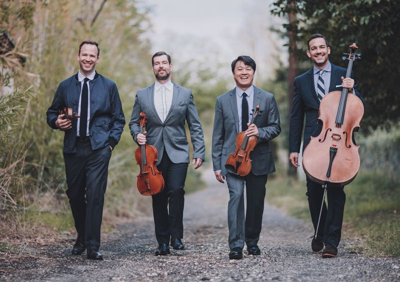 "COURTESY PHOTO - Miro Quartet performs Beethoven's ""Harp,"" ""Serioso"" and ""Opus 127"" quartets, 7:30 p.m. Thursday, Feb. 6, at The Old Church."