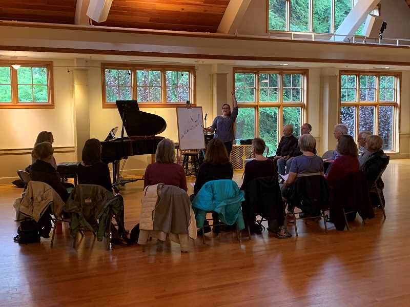 COURTESY PHOTO: LO PARKS AND REC - Do you love to sing? Stop by the Just Sing! gatherings every Wednesday from Feb. 19 to April 15.